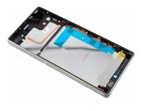 Aro Celular Sony Xperia Z3 D663 D6643 D6653 1 CHIP Prata
