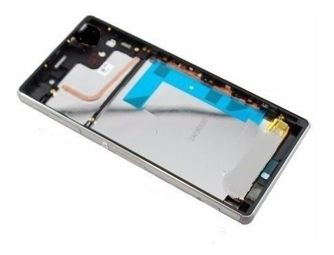 Aro Celular Sony Xperia Z3 D6663 D6643 D6653 2 Chips Prata