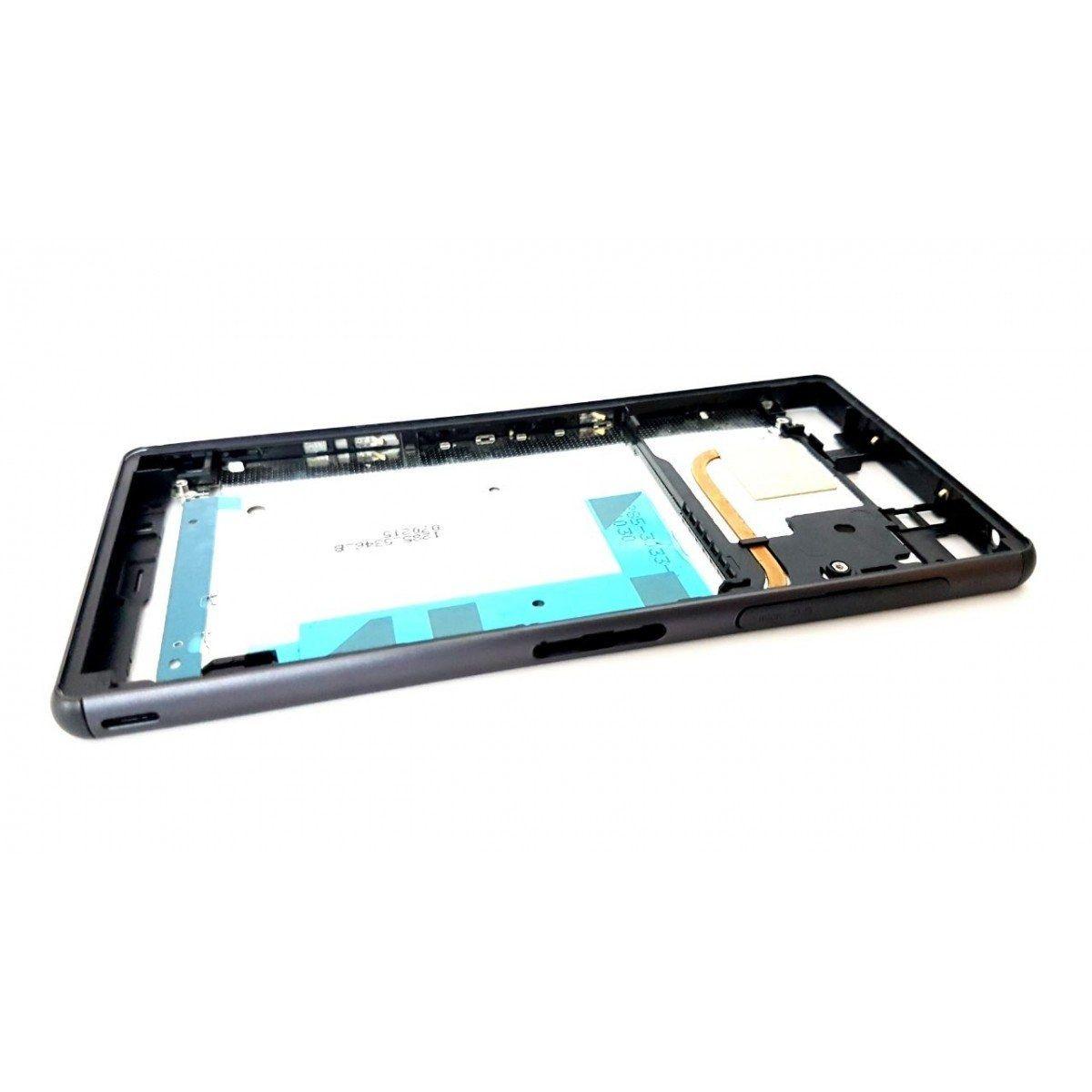 Aro Celular Sony Xperia Z3 D6663 D6643 D6653 2 Chips Preto