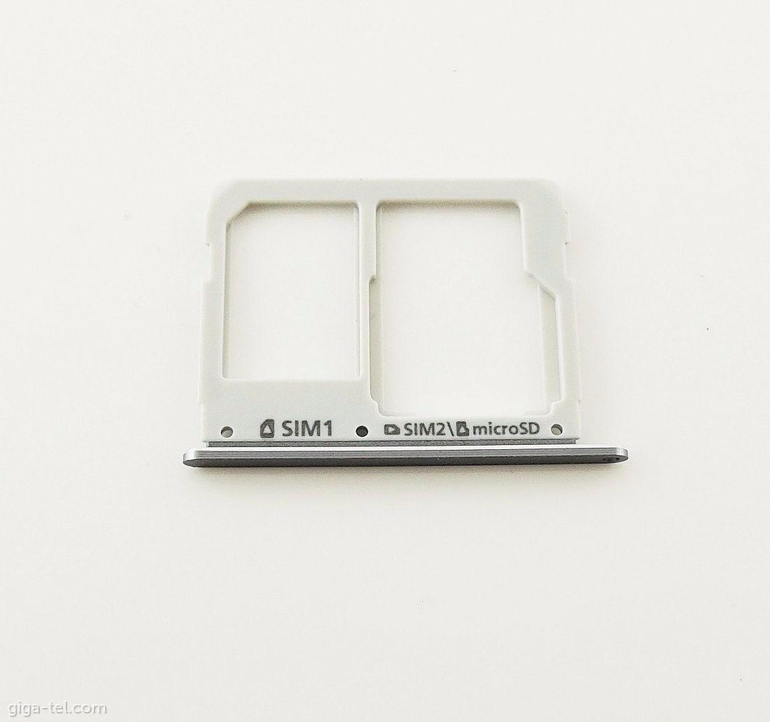 Bandeja Gaveta Chip Sim Card Samsung A3 2016 A310 A310m Cinza