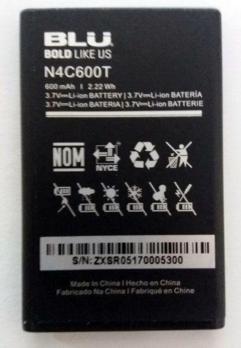 Bateria Blu Zoey Ii T276 - N4c600t