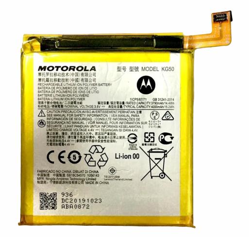 Bateria Kg50 Motorola Moto One Hyper Xt2027
