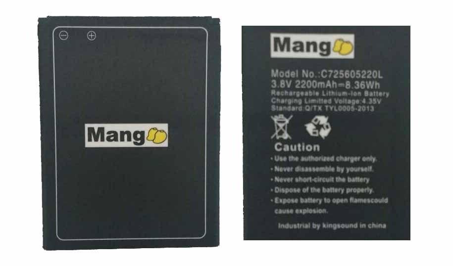 Bateria Mang C725605220l Blu Studio 5.0