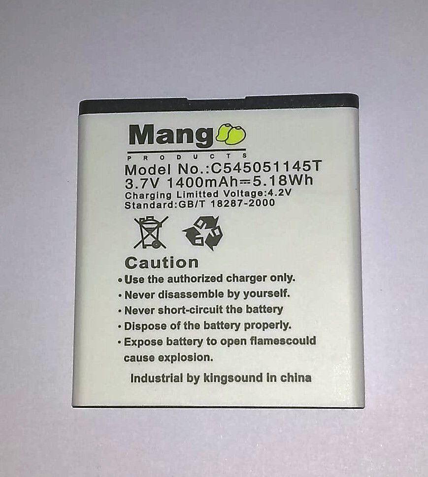 Bateria Mang Celular Blu Dash Jr Tv D140t d141t C545051145t