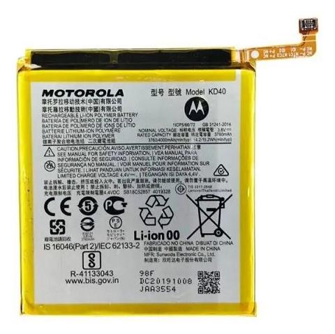 Bateria Motorola Kd40 Moto G8 Plus Xt2019-2