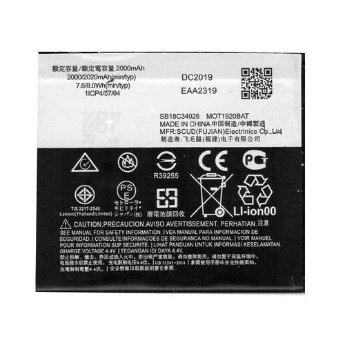 Bateria Motorola Moto E5 Play / MotoE5 Play XT1920 JE30
