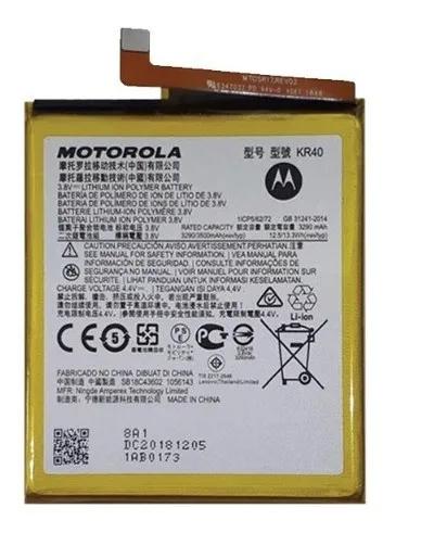 Bateria Motorola Moto One Vision Xt1970 Kr40