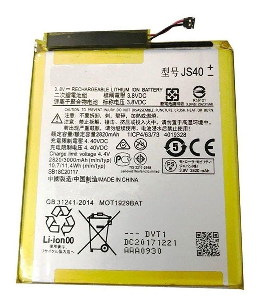 Bateria Motorola Moto Z3 Play XT1929 JS40