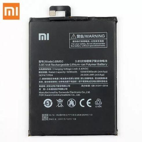 Bateria P/ Celular Xiaomi Mi Max 2 Max2 Bm50 5300 Mah