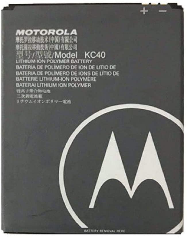 Bateria Para Motorola Moto E6 Plus KC40 3100mah