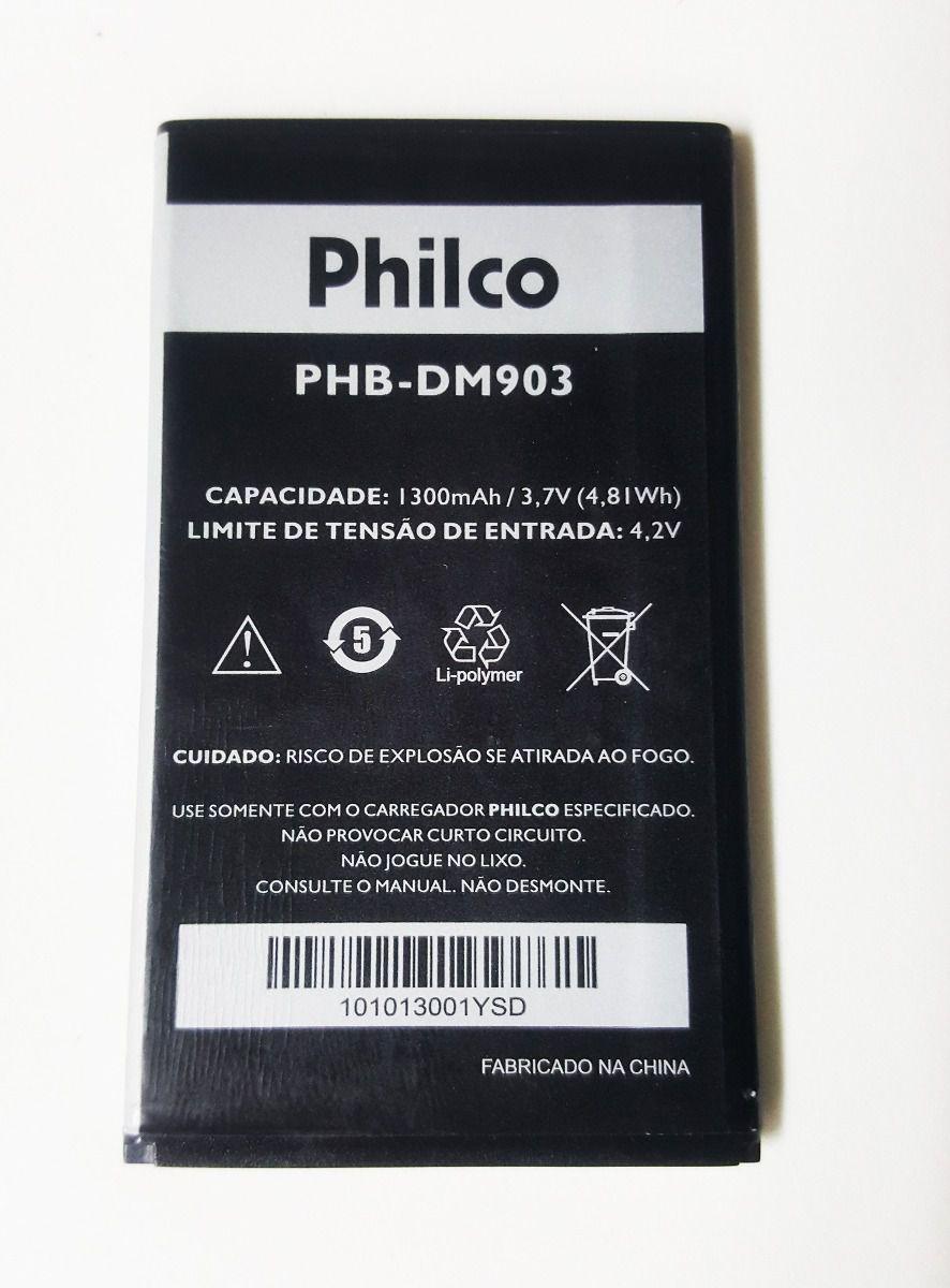 Bateria Philco 350 P350 P530b Ph35 PHB-PM903 Original