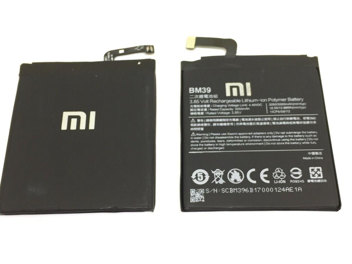 Bateria Xiaomi Bm39 Bm-39 Mi6 Mi 6 M6 Xiaomi 3250mAh