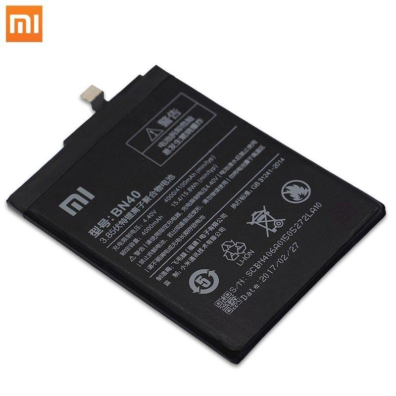 Bateria Xiaomi Bn40 / Redmi 4 Pro Prime Mod. 5 Pol. Bn-40 4000mAh