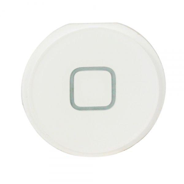Botão Home Apple iPad 2 e iPad 3 A1395 A1396 A1397  Sem flex Branco