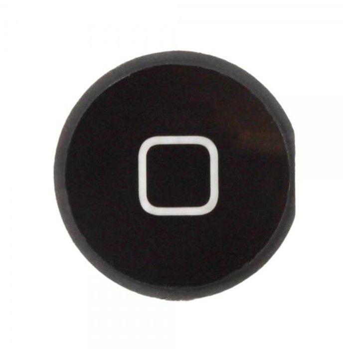 Botão Home Apple iPad Mini  Sem flex Preto