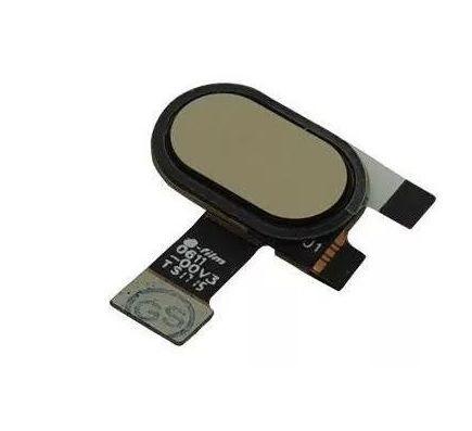 Botão Home Biometria Moto E4 Plus Xt1762 63 Xt1770 Dourado