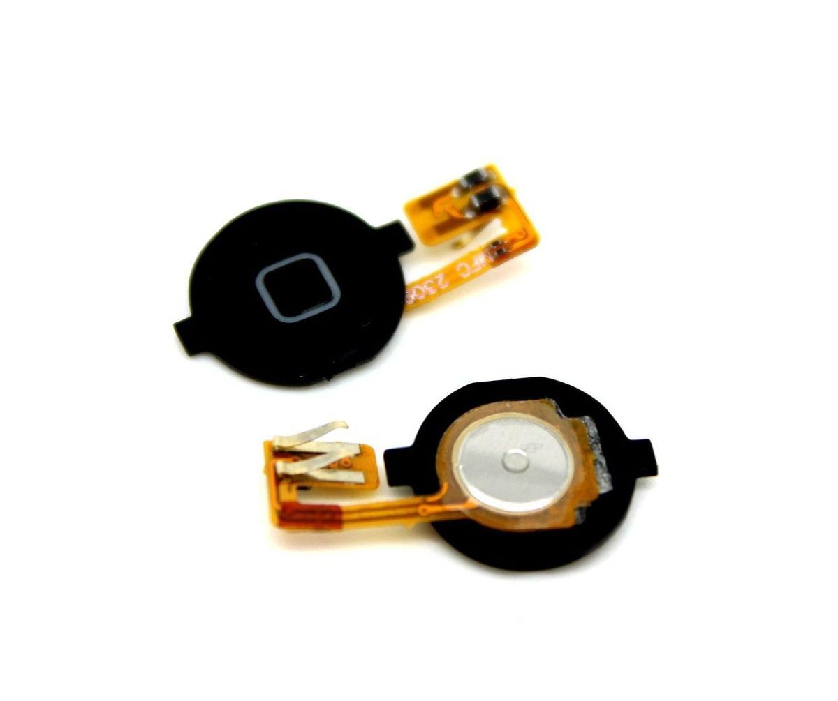 Botão Home + Cabo Flex  Apple iPhone 3GS A1325 A1303 Preto