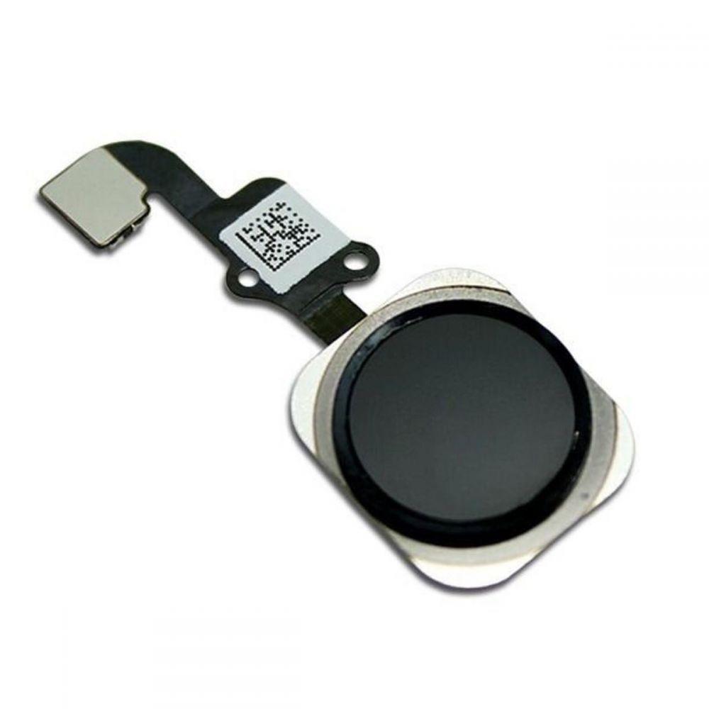 Botão Home Cabo Flex Iphone 6S A1633 A1688 A1700 Preto