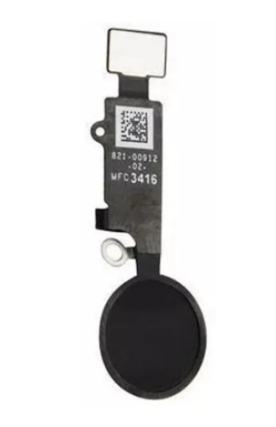 Botão Home iPhone 7 A1660 A1778 7 Plus A1661 A1784 Preto