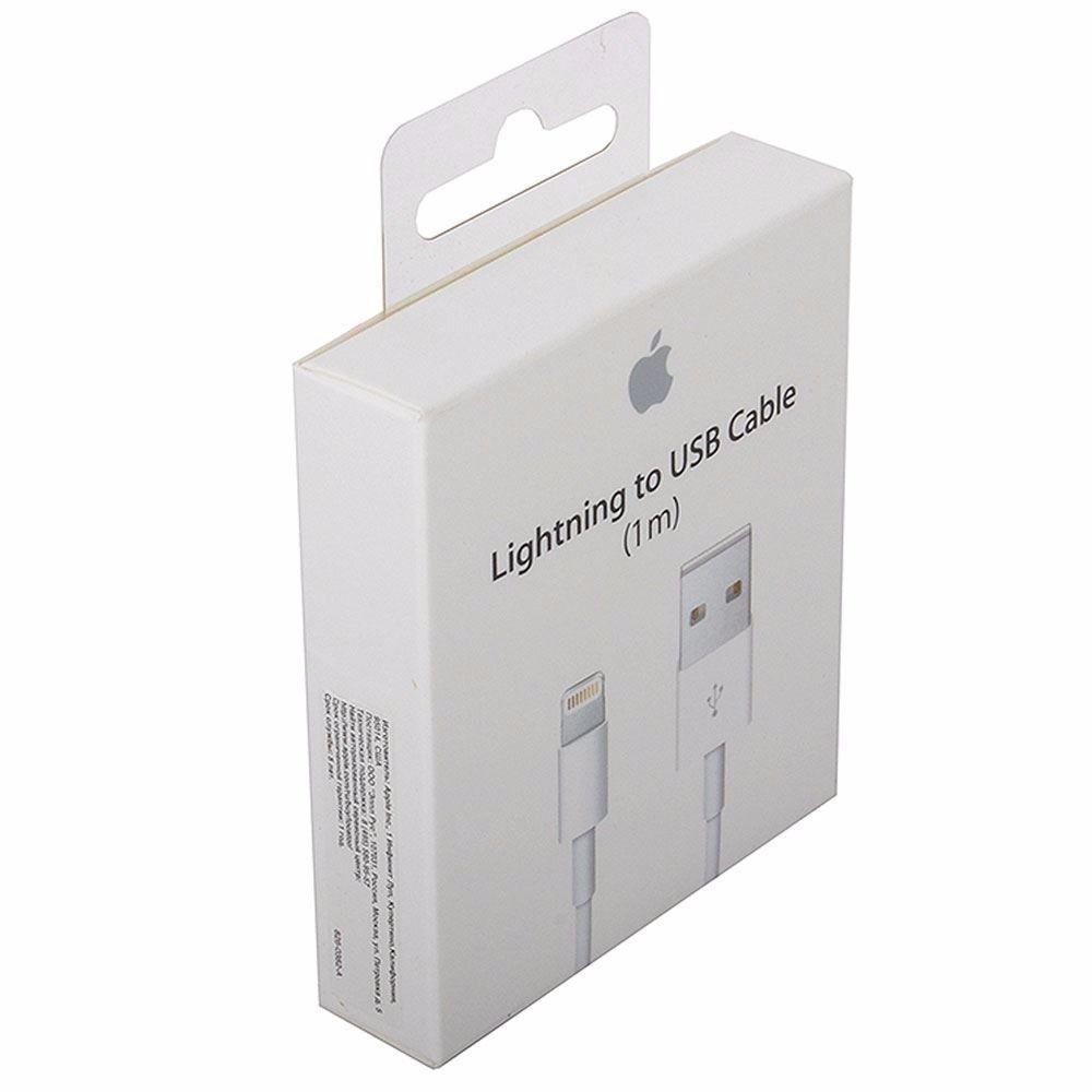 Cabo Apple Lightning Para Usb 1 Metro (1m) Compatível até o iPhone X (10)
