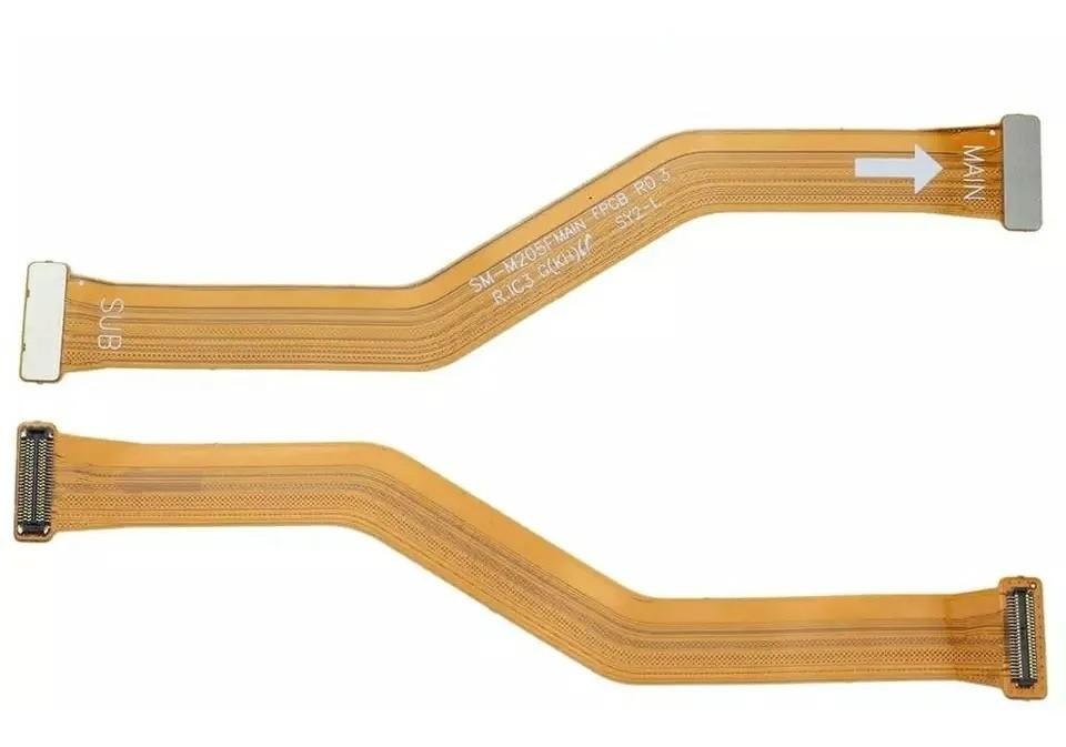 Cabo Flat Main Flex De Carga Sub Placa Mãe Compatível Samsung M20 M205