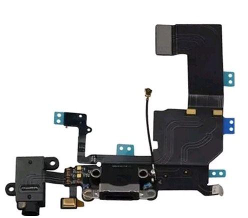 Cabo Flex Conector De Carga Usb Apple Iphone 5c A1456 A1507 A1516 A1529 A1532 PRETO