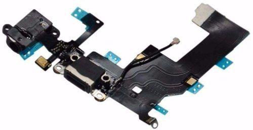 Cabo Flex Flat Dock Conector Carga Usb Fone Apple Iphone 5g A1428, A1429, A1442 PRETO