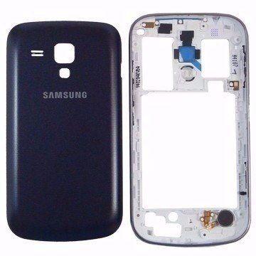 Carcaça Samsung Galaxy S Duos 7562 S7562 PRETO