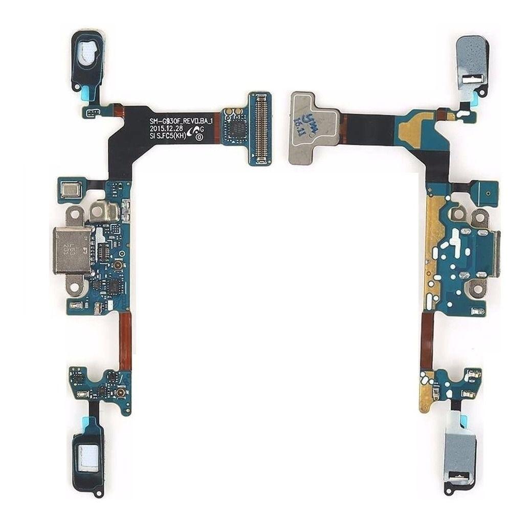 Conector Carga Flex Dock Usb Galaxy S7 G930 F Sm G930F