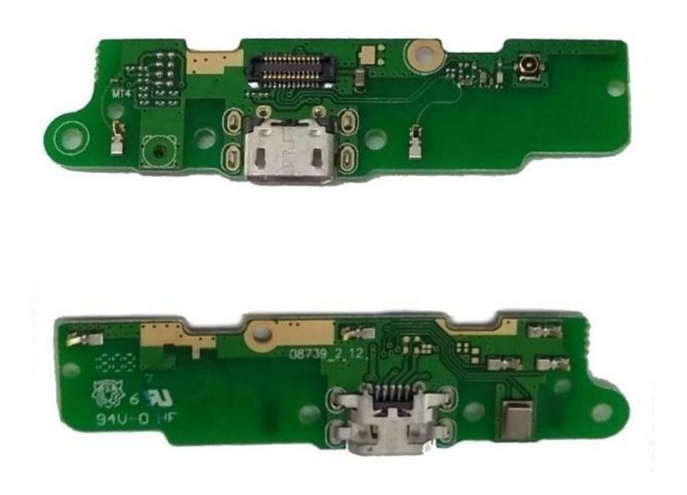 Conector Carga Placa Microfone Moto E5 Play Xt1920 Importado