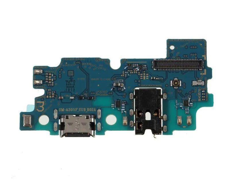 Conector De Carga Com Placa Completa Samsung Galaxy A30 A305