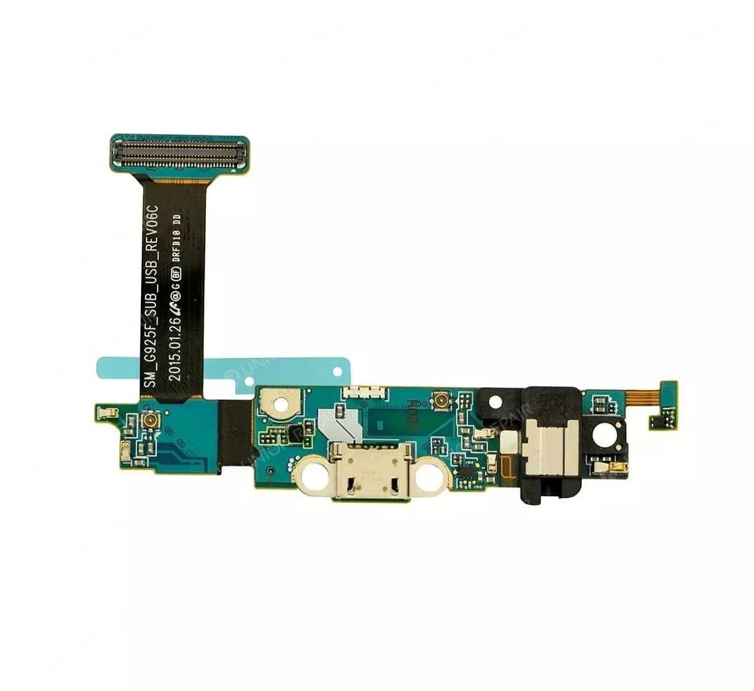 Conector de carga microfone Samsung galaxy s6 flat 920f g920f g920 f