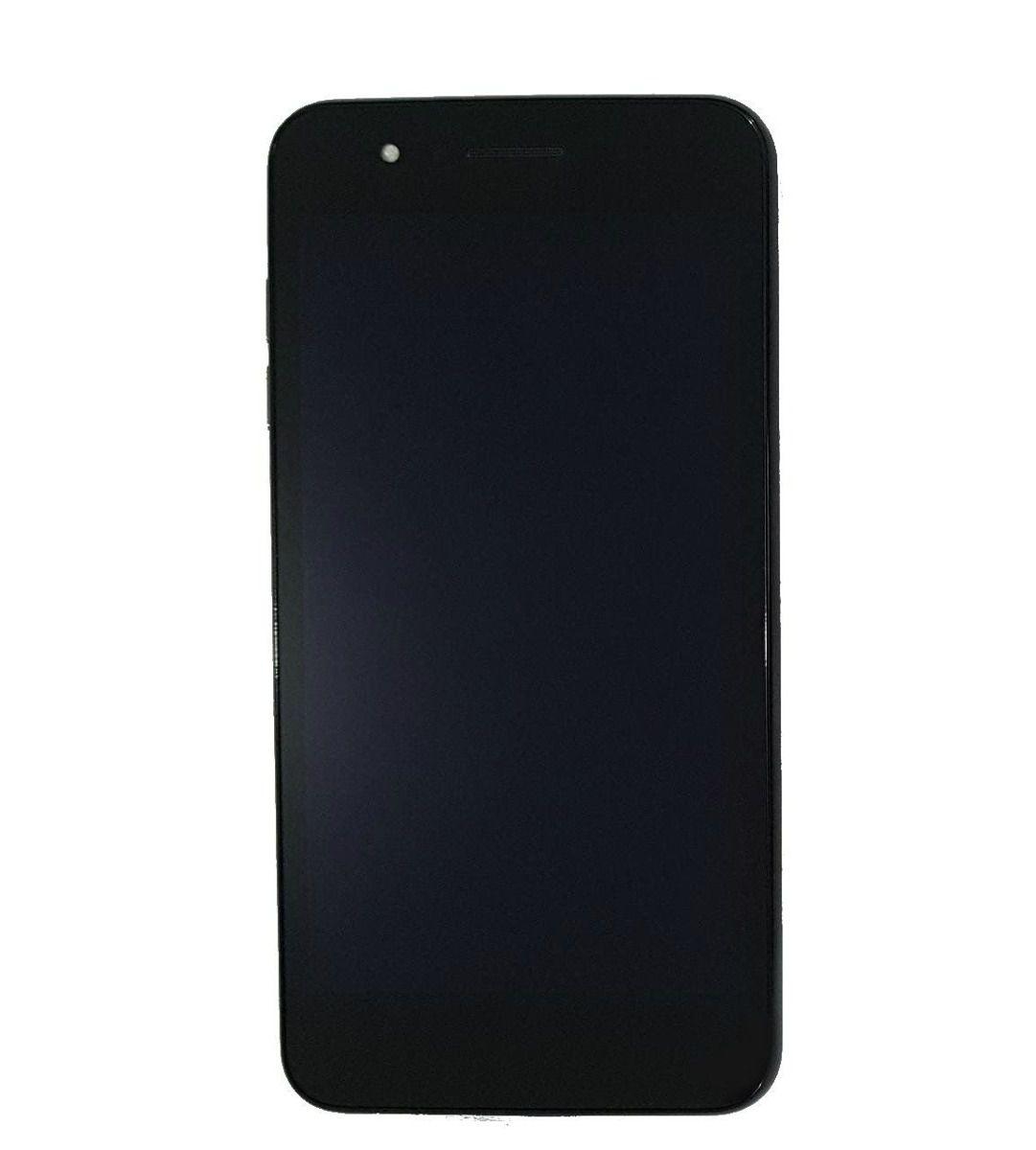 Tela Display completo / Frontal LG K9 2018 X210 Preto Com aro