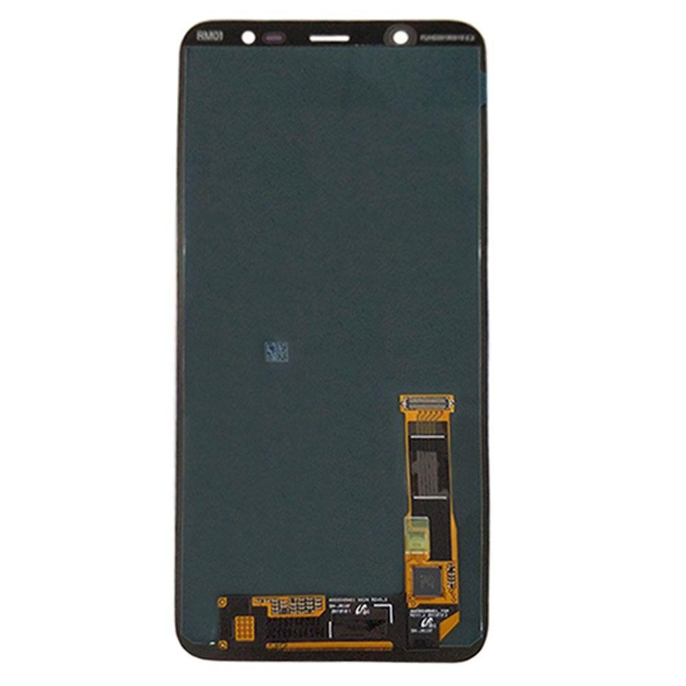 Display Frontal Lcd Samsung Galaxy J8 j810 Regulagem de brilho Dourado