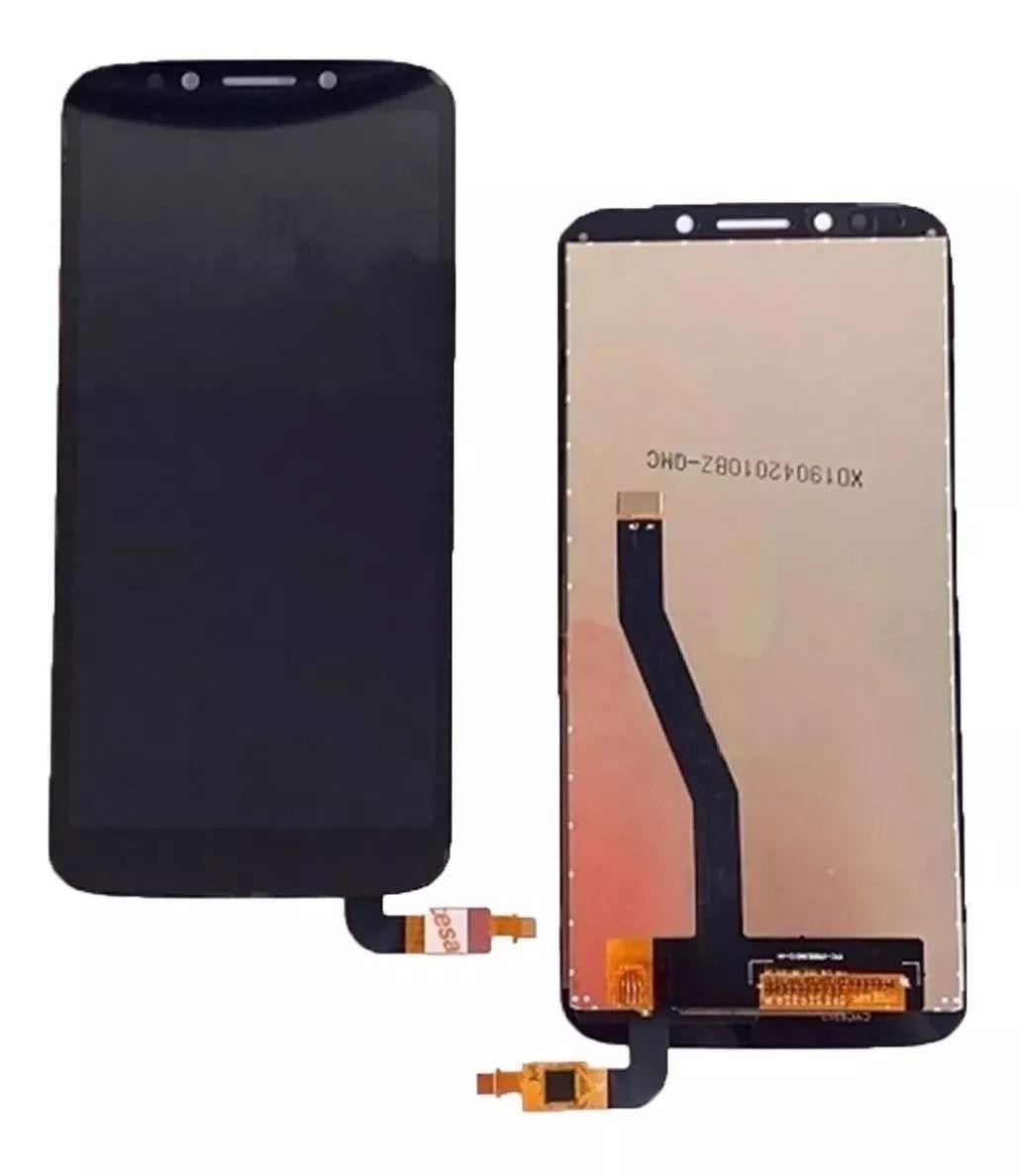 Display Frontal Motorola Xt1920  Moto E5 Play / MotoE5 Play Preto Sem aro