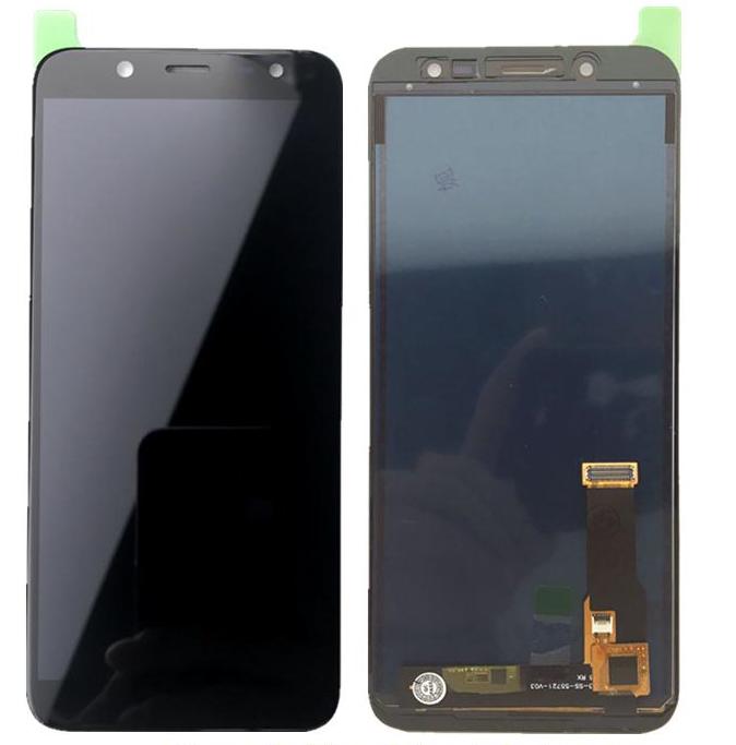 Display LCD Tela Touch Samsung Galaxy J6 J600 Sm-J6 J600 Preto C/ Reg de Brilho Incell