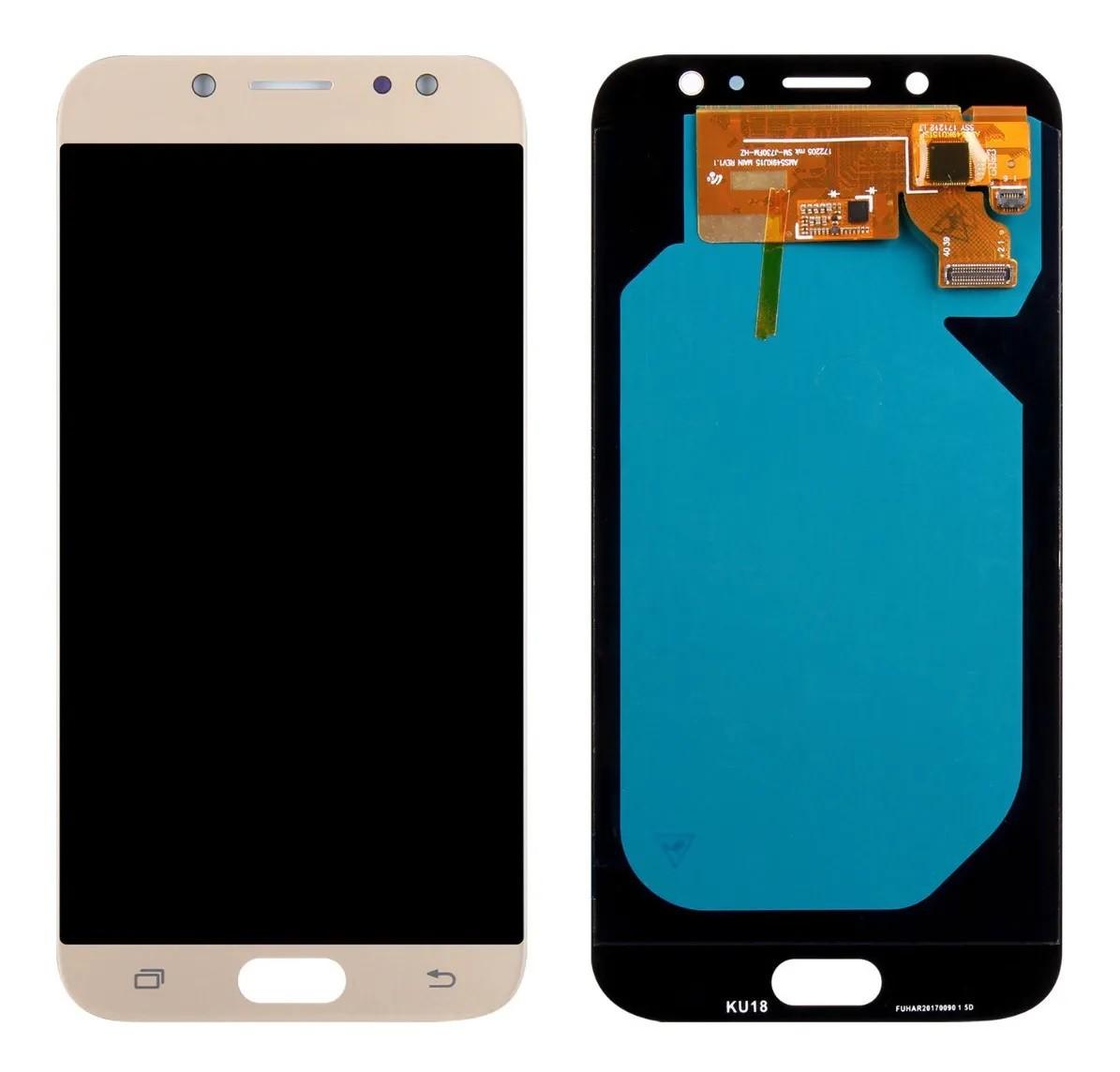 Display Touch Frontal Samsung Galaxy J7 J7 Pro J730 Incell Dourado
