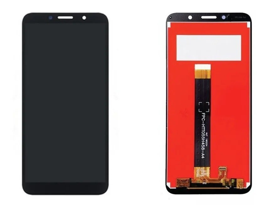 Display Touch Tela Frontal Lcd Motorola Moto E6 Play MotoE6 Play Xt2029 Preto sem aro