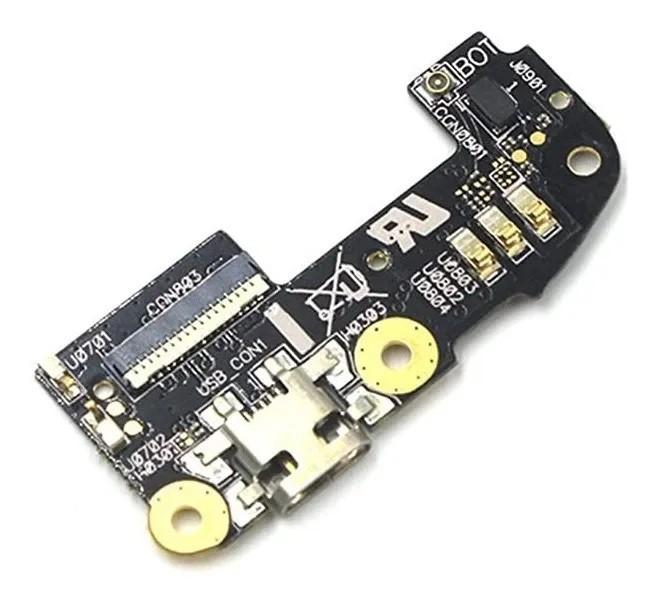 Dock Placa Conector Carga Usb Completo Microfone Zenfone 2 Ze551ml