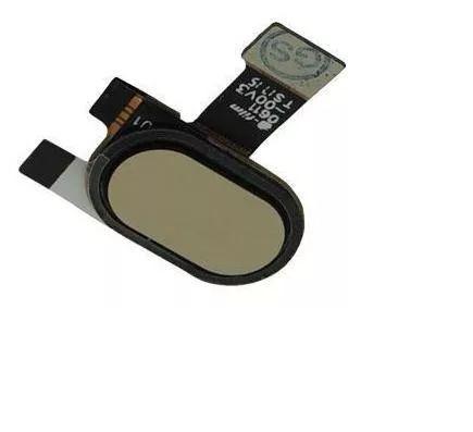 Flex Botão Home Biometria Moto E4 Xt1762 Xt1770 Dourado