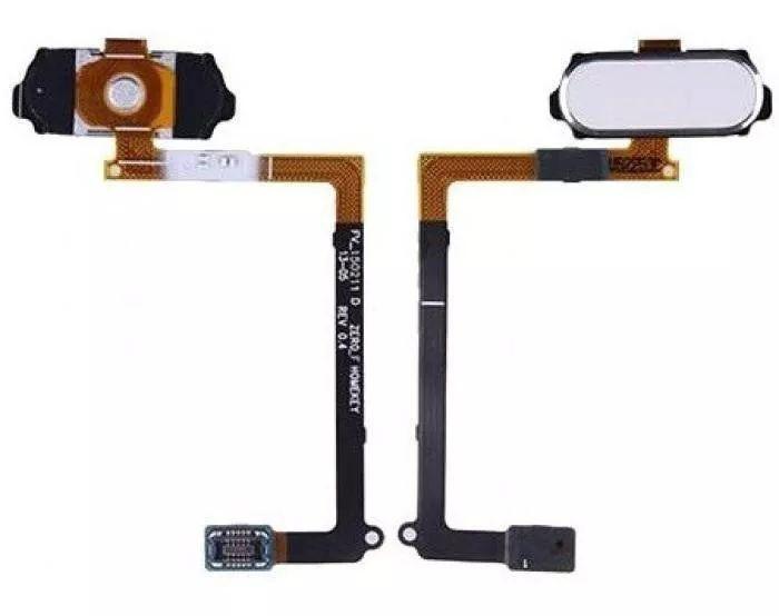 Flex Botão Home Branco Galaxy S6 G920 Rev 4.0 Branco