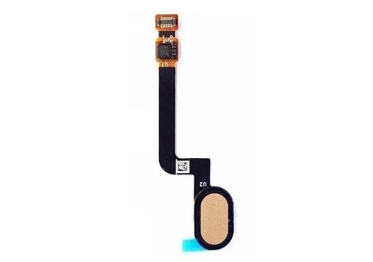 Flex Botão Home Leitor Biometria Moto G5s Plus Xt1802 Dourado