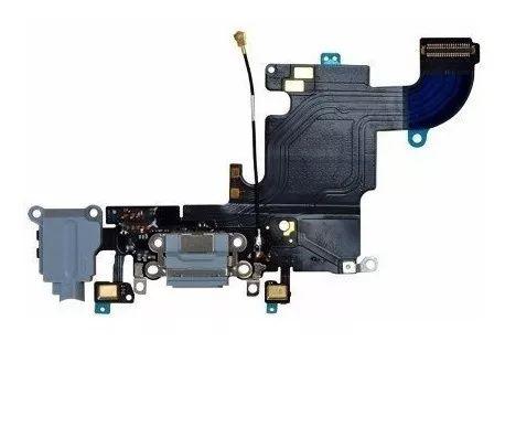 Flex Conector Carga Apple iPhone 6s 2015 A1633 A1688 A1700 Preto