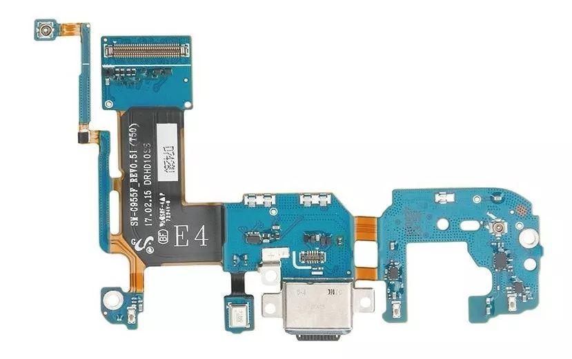 Flex conector carga usb galaxy s8 plus g955 g955f versão f