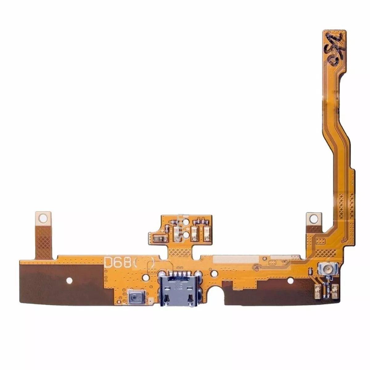 Flex Conector De Carga Microfone Lg D680 D685 D686 G Pro Lite