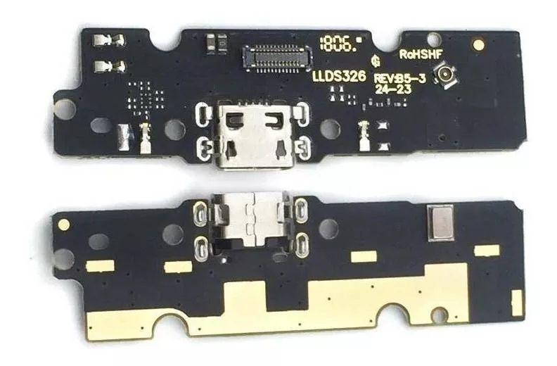 Flex Conector De Carga Usb Microfone Moto E5 Plus
