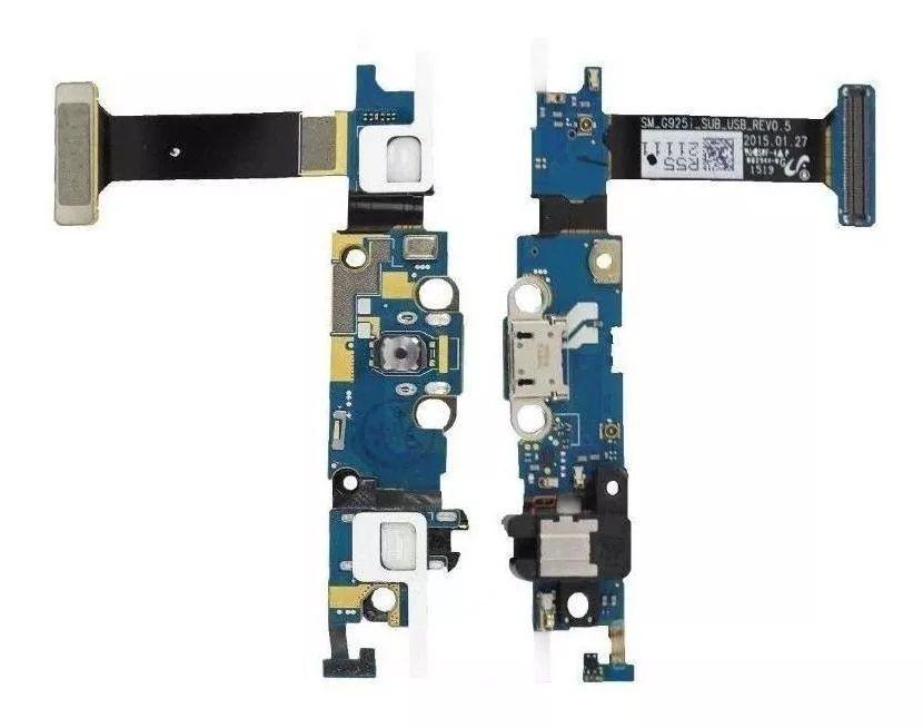 Flex Conector de Carga Usb S6 Edge SM-G925I G925 Versão i