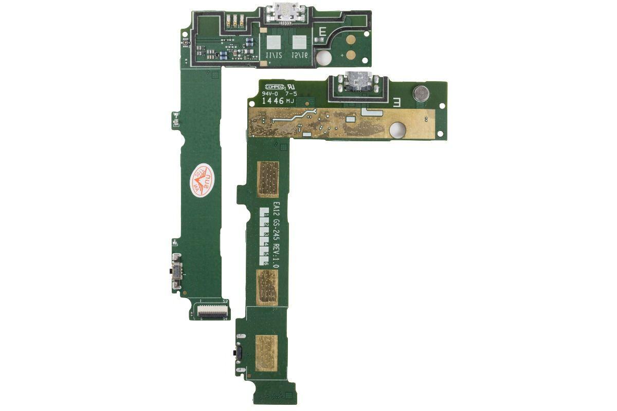 Flex Dock Conector Carga Nokia Microsoft Lumia N535 N 535 Versão E