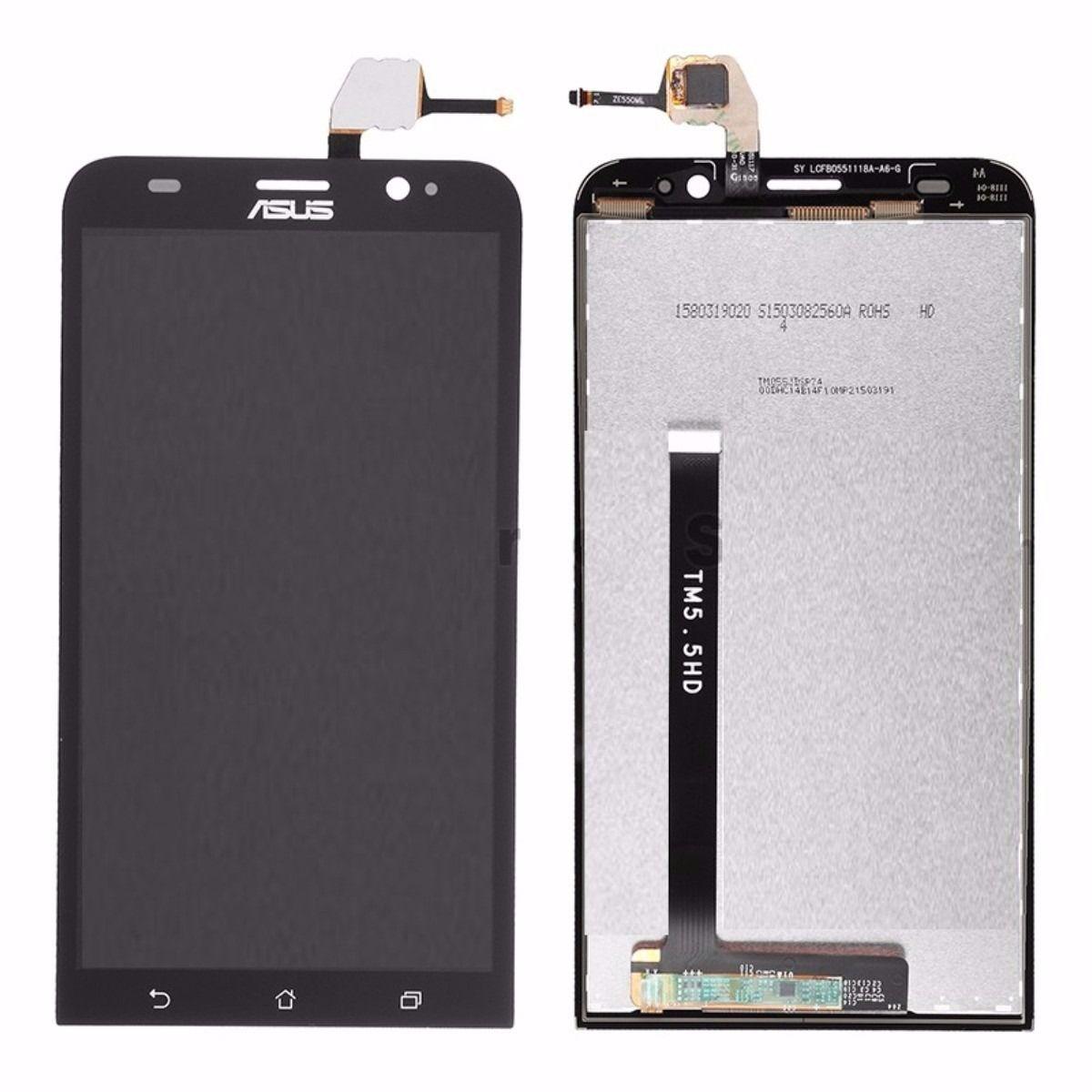 Frontal Display Lcd Tela Touch Asus Zenfone 2 Ze551ml Preto
