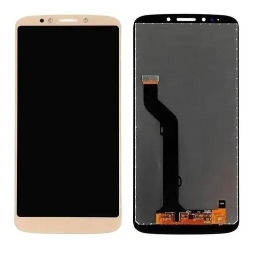 Frontal Display Tela Motorola Moto E5 Plus Xt1924 Dourado